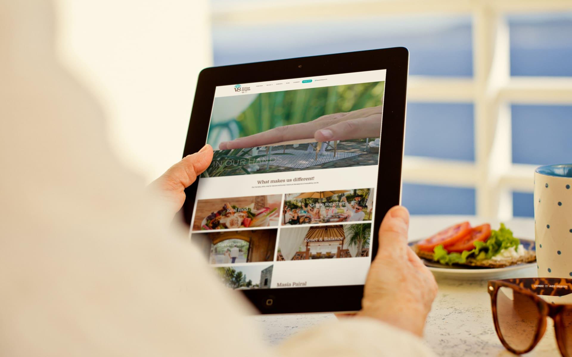 Diseño web Villas Sitges