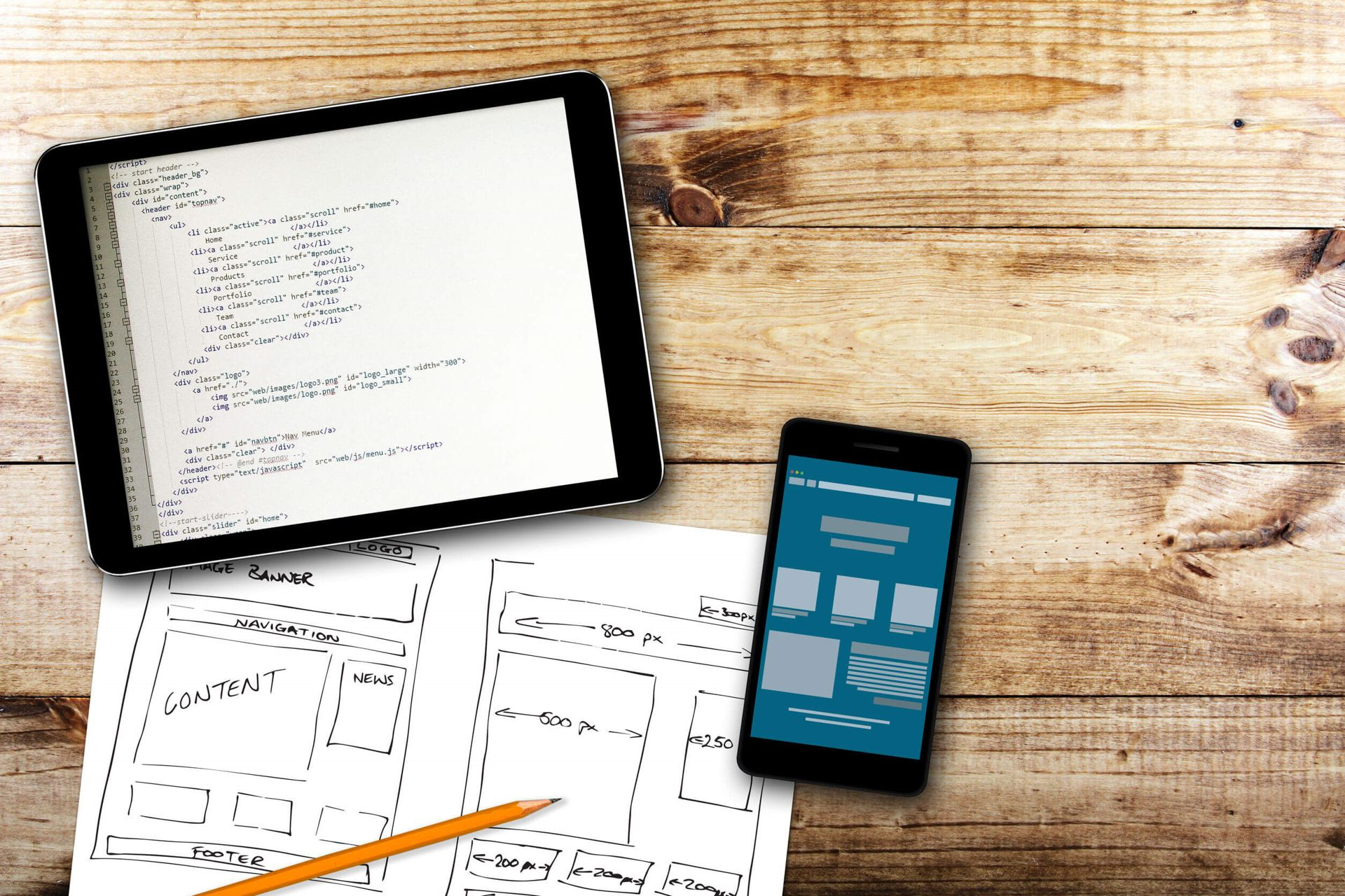 Diseño web responsive es Vilanova i la Geltrú